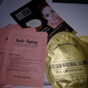 Set of 6 face masks